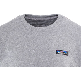 Patagonia P-6 Label Uprisal Midlayer Hombre, gravel heather